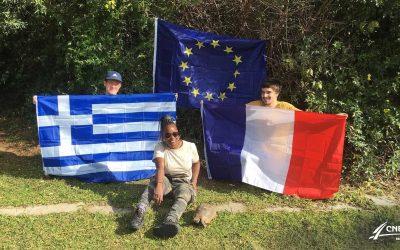 ERASMUS – Jeunes Bretons en Grèce (Kerbernez-Athènes) Podcast de 4 épisodes